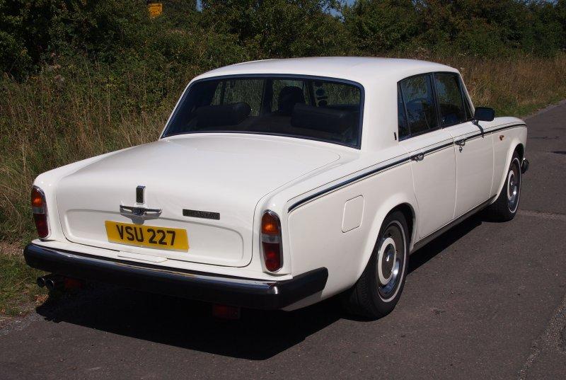photo of Roberta Flack Rolls-Royce Silver Shadow II - car