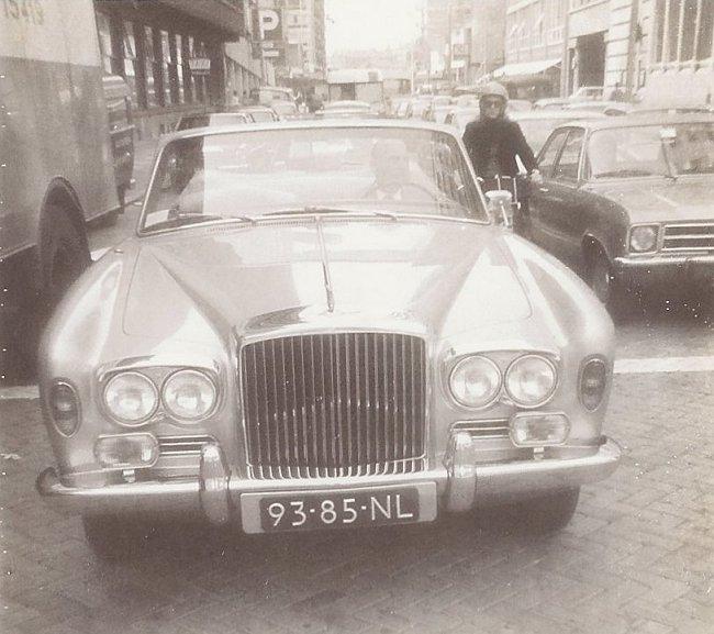 Rolls royce silver shadow straatbeeld jaren 70 80 for Interieur reinigen auto rotterdam