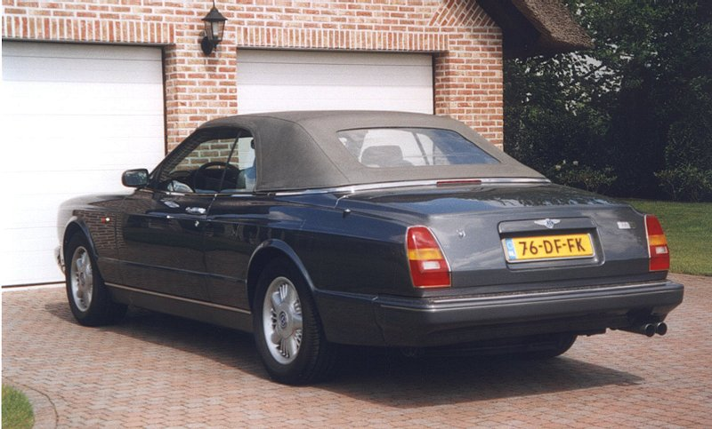 bentley continental azure (1996)