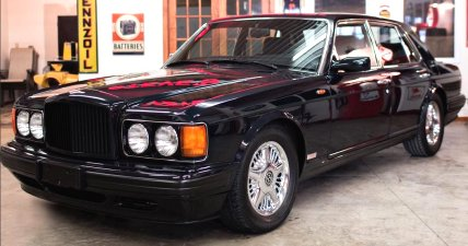 1996 Bentley Turbo R SE, SCBZR14C8TCX58147 (pictures above and below
