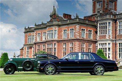 Bentley Arnage T Blue Train