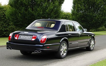 bentley arnage t blue train