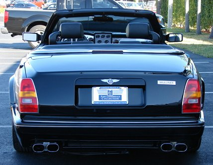 2002 Bentley Azure Mulliner SCBZK25E32CX01072